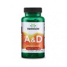 A&D vitamin 5000NE / 400NE (250) – Swanson