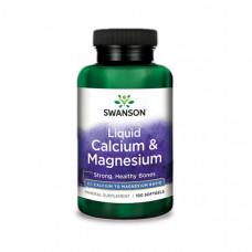 Kalcium és Magnézium - folyékony (100) - Swanson