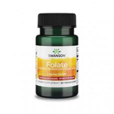 Folát (B9-Vitamin) 400µg (30) – Swanson