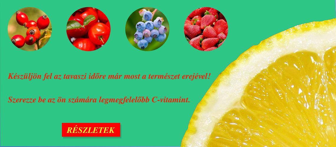 Tavaszi ajánlatunk - C-Vitamin