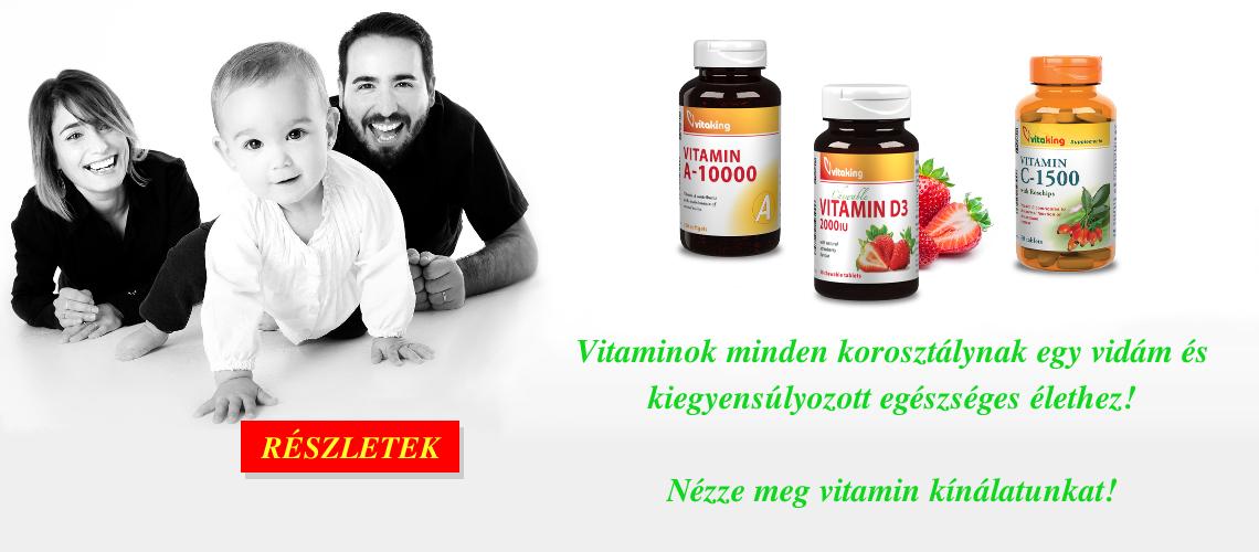 Vitaminok az egész családnak